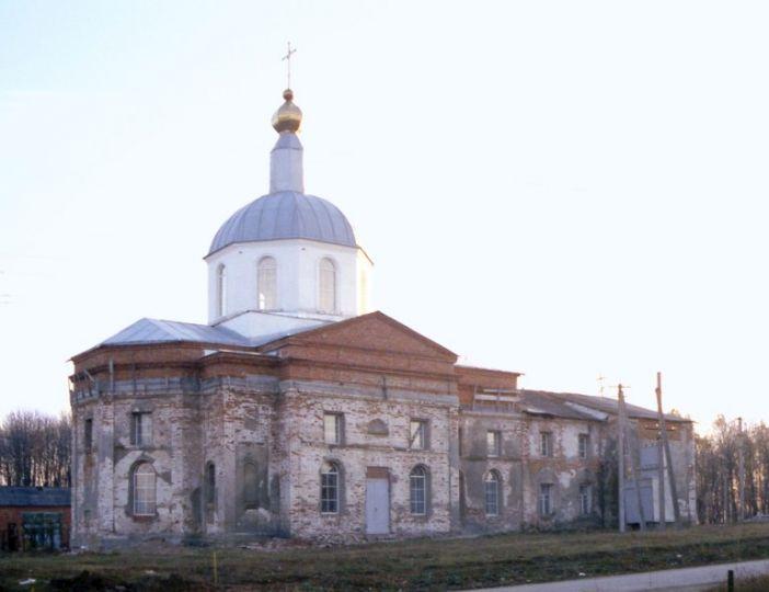 Church Of The Ascension. Liubotyn