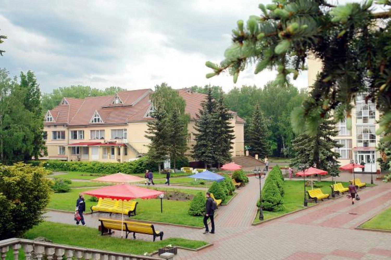 Sanatoriums and boarding houses of the Chernihiv region: a selection of sites