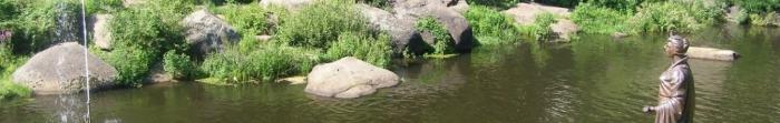Miasto Korosteń (starożytna nazwa - wróble) znajduje się na starożytnych skałach po obu stronach malowniczej rzeki Oh, dopływ Prypeci, na 87 km na północ od Żytomierza, 60 km od granicy z Republiką Białorusi, 150 kilometrów od stolicy Ukrainy, Kijowie. Populacji jest 66,7 tysięcy osób. Terje zamieszkana od paleolitu - jeden z największych w Europie złóż krzemienia przyciąga uwagę ponad 10. Photo  2